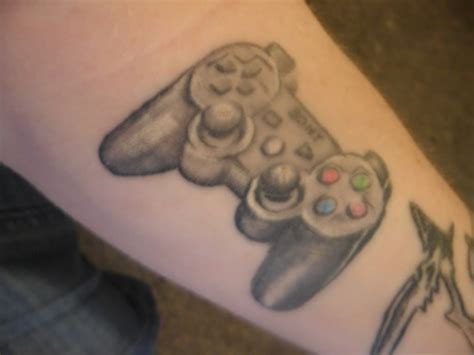 playstation tattoo pin skull psp tattoos page 18 on