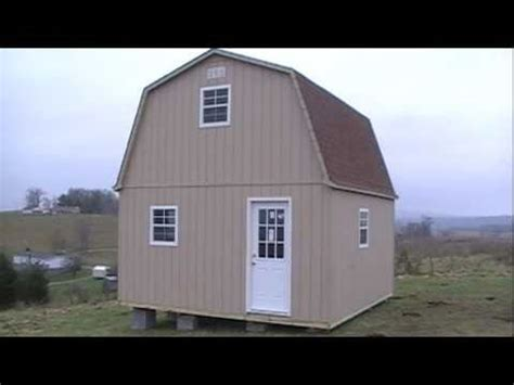 gambrel shed plans 16x16 sheds plans
