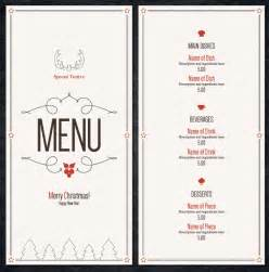 Menu Template Doc by Doc 7681024 Menu Word Template