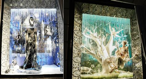 images of christmas windows new york s best dressed christmas windows of 2013 pursuitist