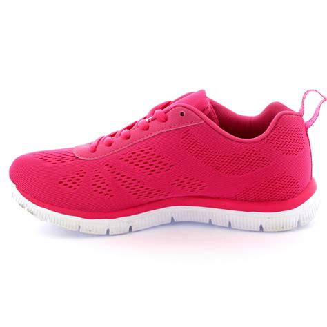 athletic trainer shoes get fit mesh running trainers athletic walk