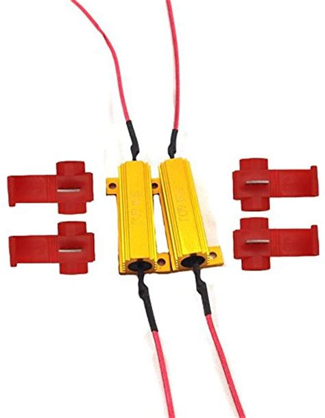 resistor in front of led led error free lights club touareg forums