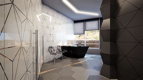 High Tech Style Interior Design by Rompharm Office Interior Design By Geometrix