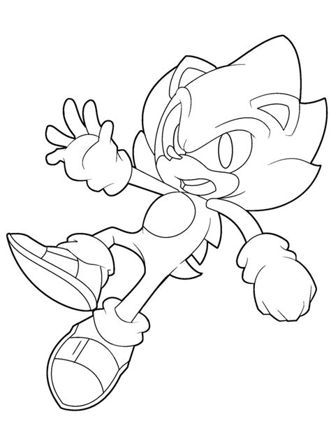 sonic and friends coloring pages finest sonic color page