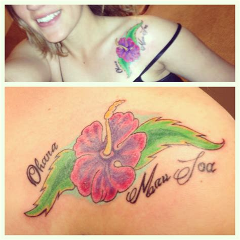 ohana tattoos hawaii is one 2nd quot ohana mau loa quot this means family always and