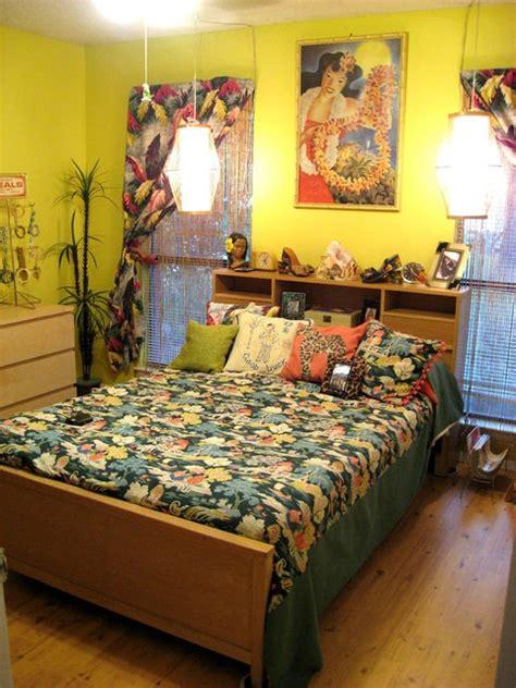 bright tropical bedroom designs digsdigs