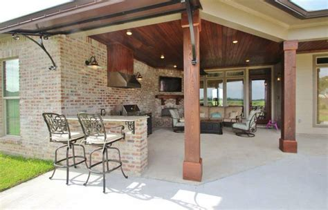 house plans with outdoor kitchens madden home design acadian house plans french country