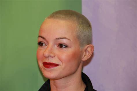 bald women haircuts bald women long hairstyles