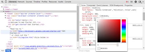 chrome developer console chrome devtools overview chrome