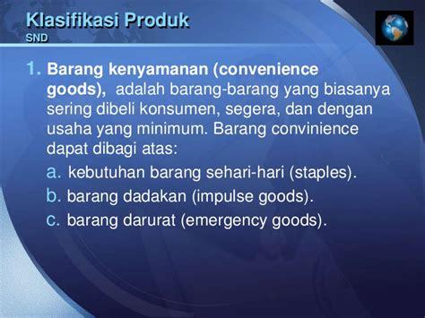Lu Emergency Yang Tahan Lama mengelola bauran dan lini produk