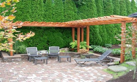 pergola backyard ideas backyard landscaping ideas with pergola decor references
