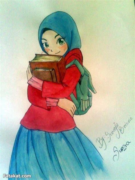 wallpaper animasi jilbab pin cute muslimah anime background tattoo page 2 on pinterest
