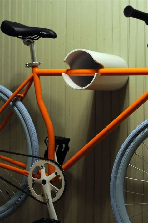 Hanging Bike Rack by Wall Bike Rack Hanging Display Unpainted