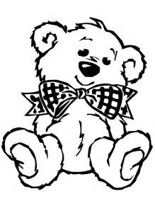 teddy coloring pages teddy coloring pages