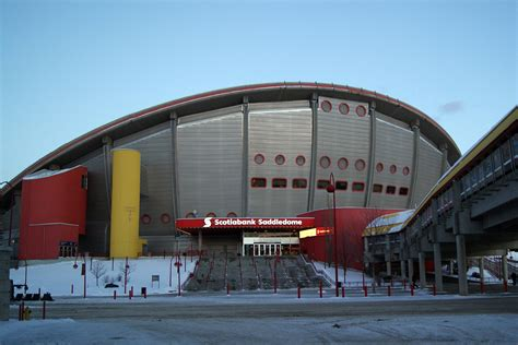 bank of scotia calgary locations pictures from inside the calgary saddledome canada