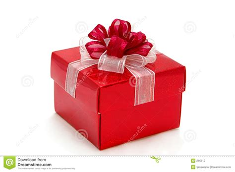 red gift box stock photo image 266810