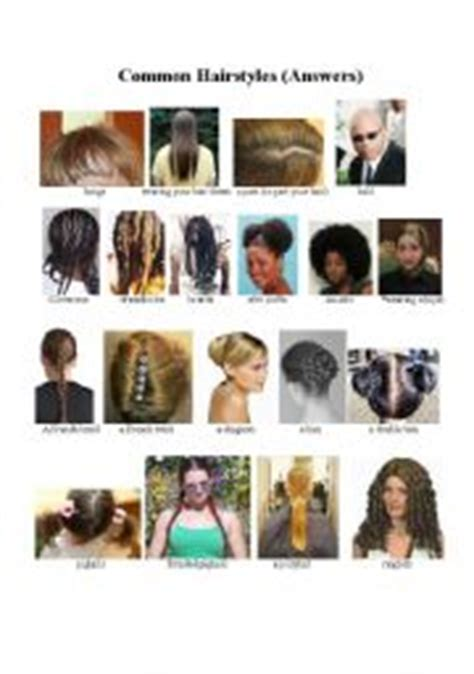 esl hairstyles english teaching worksheets hairstyles vocabulary