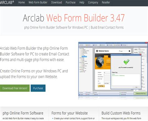 15 html free form builder tools