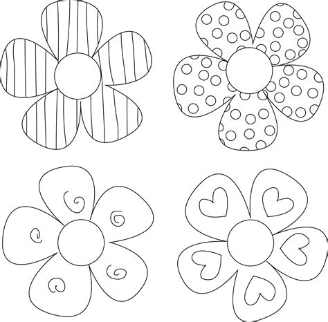 8 Best Images Of 3d Flower Cut Outs Printable Printable Flower Template Cut Out Paper Flower Free Cut Pro Templates