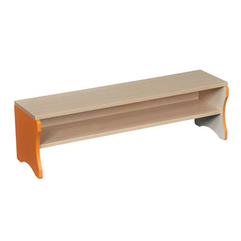 orange storage bench bench orange edging profile education