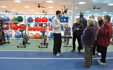 tour fitness center duke in pics health and fitness center gets new look