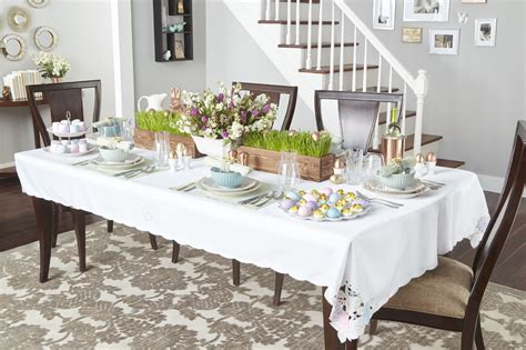 Dining Room Farm Tables 11 Ideas For An Egg Celent Easter Table Above