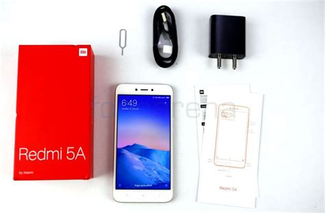 xiaomi redmi 5a xiaomi redmi 5a unboxing and first impressions