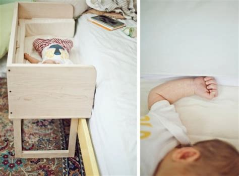 Sidecar Co Sleeper by Two Handmade Co Sleepers 171 Buymodernbaby