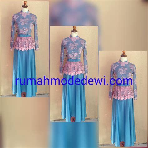 Baju Muslim Anak Perempuan Warna Pink baju gamis warna pink toko busana muslim baju