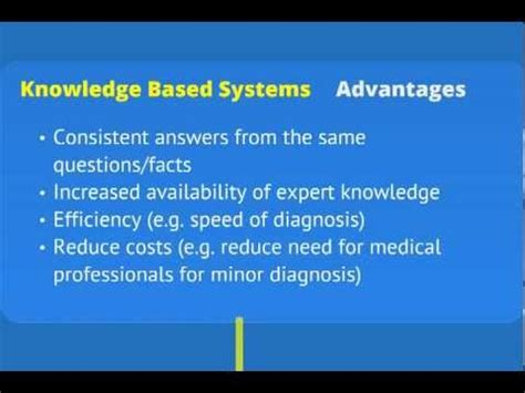 software knowledge based systems