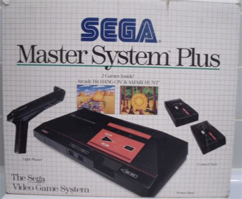master console console master system plus ms console occasion pas