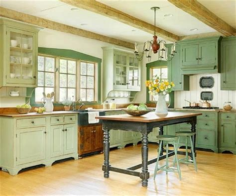retro kitchen furniture 2018 10 cocinas en color verde refrescantes