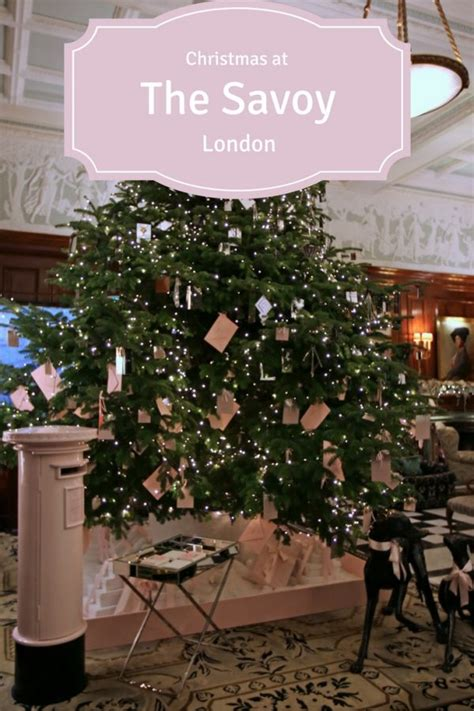 emma christmas tree 2217 the savoy london at christmas review of the savoy london