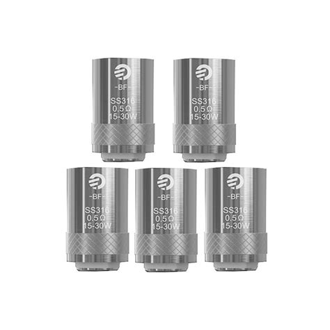 authentic joyetech cubis bf 0 5 ohm ss316 replacement coil