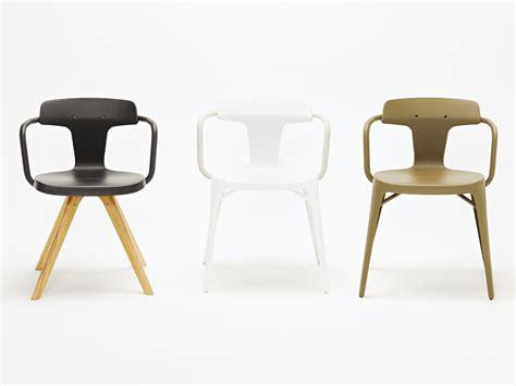 t14 chaise en acier inoxydable et bois by tolix steel