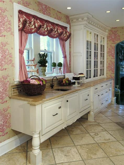 White French Country Kitchen Cabinets photo page hgtv