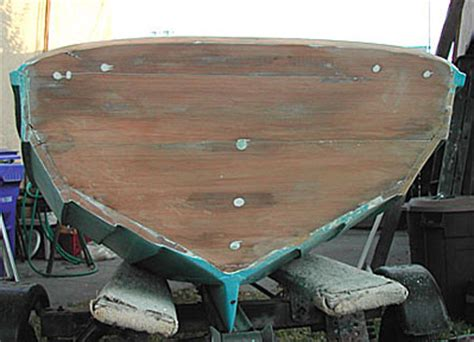 layout boat with transom chamberlain dory gunwale and transom modifications repair