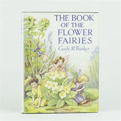 flower fairies of the books the book of the flower fairies by barker cicely m