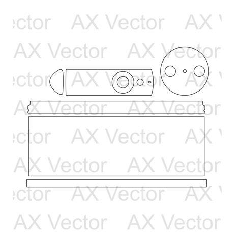 Amazon Echo Vector Template Echo Skin Template