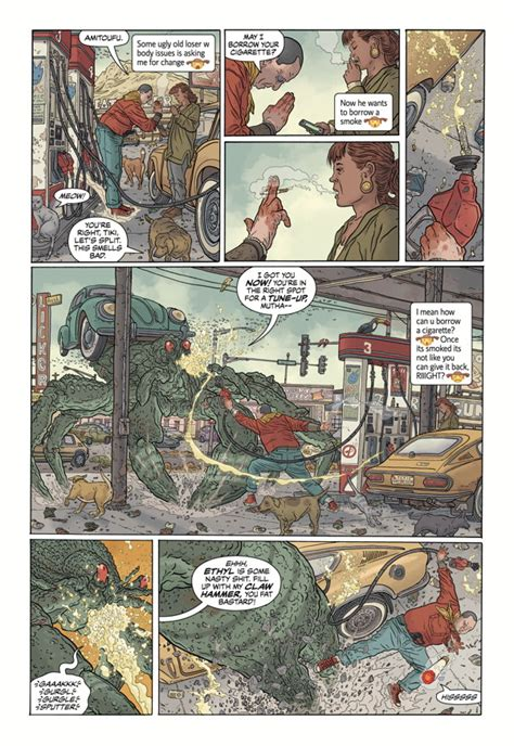 libro shaolin cowboy wholl stop shaolin cowboy who ll stop the reign h c by geof darrow