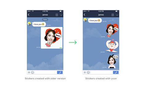 chat wallpaper line error line line officially launches selfie sticker creation app