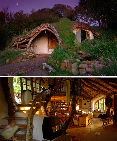eco homes from the earth earthships and hobbit houses