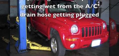 Jeep Compass Air Conditioning Problems How To Fix A Plugged Up Air Conditioner Drain Hose On A
