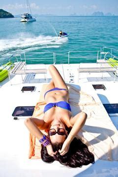 catamaran vs motor yacht pros cons of sailing vs motor boat charters in phuket
