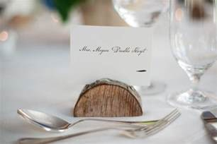 wedding place card holder aspen colorado mountain wedding megan bobby rustic