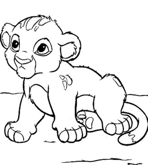 printable coloring pages of baby animals free coloring pages of baby animal