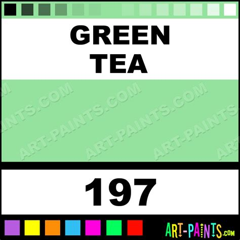 green tea four in one paintmarker marking pen paints 197 green tea paint green tea color