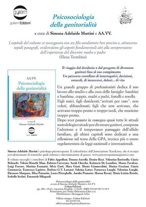 libreria psicologia firenze aa vv psicosociologia della genitorialit 224 golem edizioni