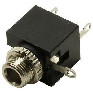 truconnect pj 301m 3 5mm mono miniature jack socket