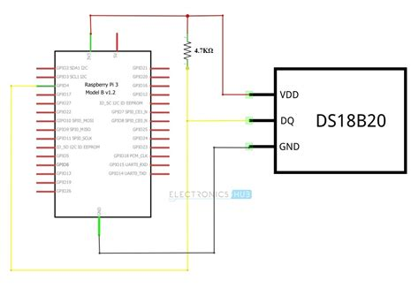 arduino ds18b20 wiring diagram images wiring diagram